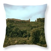 Northern Italy Countryside Throw Pillow