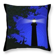 Northern Light Throw Pillow by Mike McGlothlen