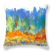 Northern Shore Throw Pillow