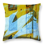 Northern Surrender Throw Pillow