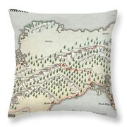 Northern Territories Throw Pillow