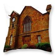 Northford Church Throw Pillow