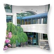 Northside Alpharetta Medical Campus A . First View Throw Pillow
