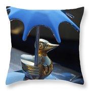 Northwest Roadster Hood Ornament Throw Pillow