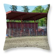 Northwest Rodeo Time Throw Pillow