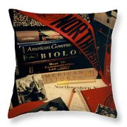 Northwestern Memories Throw Pillow