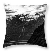 Norway Throw Pillow