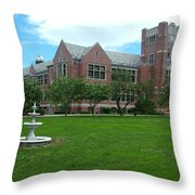 Norwich Free Academy Throw Pillow