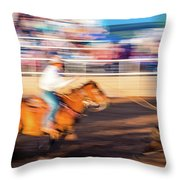 Norwood Colorado - Cowboys Ride Throw Pillow