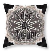 Nosce Te Ipsum Throw Pillow
