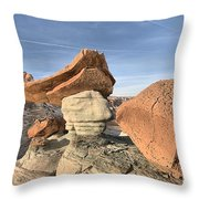 Nose To The Grindstone Throw Pillow