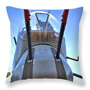 Nose Turret Throw Pillow