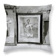 A Family History Throw Pillow