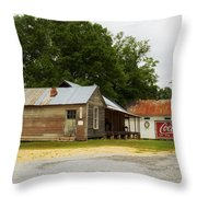 Nostalgic Corner - Alabama Throw Pillow