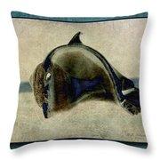 Not A Dolphin Throw Pillow