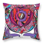 Not Fade Away Throw Pillow by Kevin J Cooper Artwork