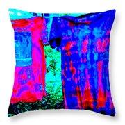 Not Fade Away - Tie Dye Throw Pillow
