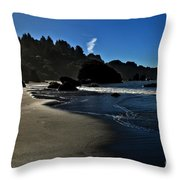 Not For Surfing Throw Pillow
