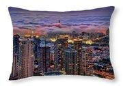 Not Hong Kong Throw Pillow