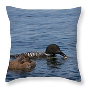 Not Hungry Throw Pillow