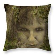 Not Nice To Fool Mother Nature Throw Pillow