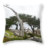 Not The Ghost Tree Throw Pillow
