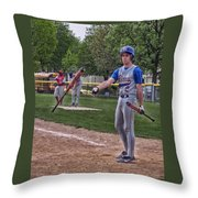 Not This Bat Throw Pillow