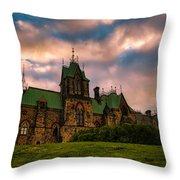 Not Your Regular Mansion Throw Pillow