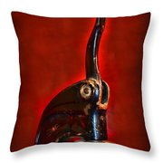 Notary Public Vintage Seal Throw Pillow