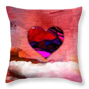 Nothing But Love Throw Pillow