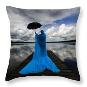 Nothing Is Ours But Time  Throw Pillow