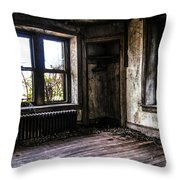 Nothing Left But The Ghosts Throw Pillow
