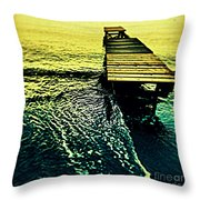 Nothing Less... Throw Pillow