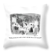 Nothing Personal Throw Pillow