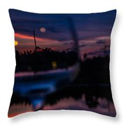 Nothing Wasted Throw Pillow