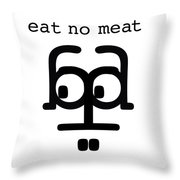 Nothing With A Face Throw Pillow