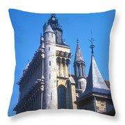 Notre Dame De Dijon Throw Pillow