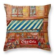 Notredame Circa 1940 Throw Pillow