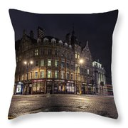 The Somerset House Throw Pillow