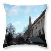 Nottingham Street Throw Pillow