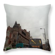 Nottingham Transit Throw Pillow