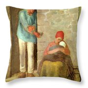 Nourishment, 1858 Throw Pillow