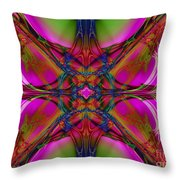 Nouveau Pink Throw Pillow