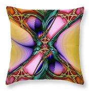 Nouveau Twist Throw Pillow
