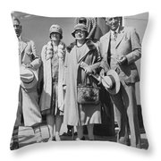Novelist Zane Grey Throw Pillow