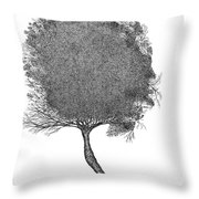 November 2011 Throw Pillow