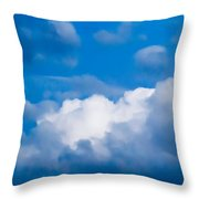 November Clouds 007 Throw Pillow