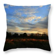 November Skies  Throw Pillow