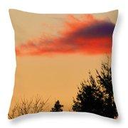 November Sunset IIi Throw Pillow