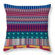 Novino Signature Color Spectrum Buys Any Faa Product Or Download For Self-printing  Navin Joshi Righ Throw Pillow